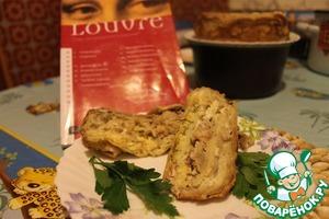 Рецепт Блинный террин с овощным соусом