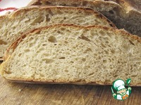 Хлеб на закваске с творогом ингредиенты