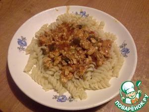 """Рецепт Томатный соус с фаршем """"Еще ложечку"""""""