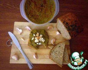 Рецепт Чечевичный паштет