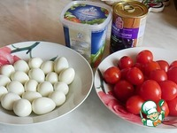 """Салат """"Великолепная четверка"""" ингредиенты"""