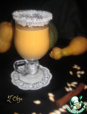 Рецепт Тыквенно-молочный коктейль
