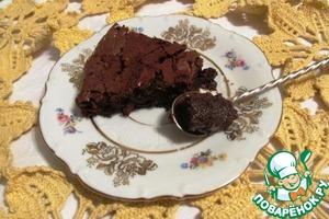 Рецепт Очень шоколадный торт без муки