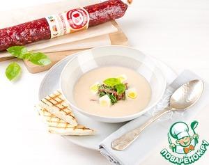 Рецепт Крем-суп из белой фасоли по-Черкизовски
