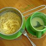 Диетический соус с кабачком в СВЧ