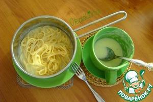 Рецепт Диетический соус с кабачком за 10 минут из СВЧ