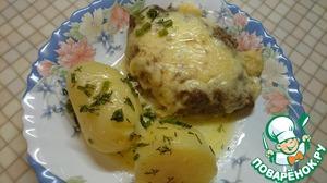 Рецепт Шницели с яйцом и сыром