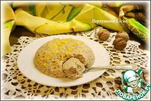 Рецепт Запеканка творожно-ореховая
