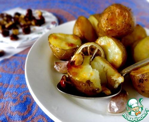 Запеченный картофель пошаговый рецепт с
