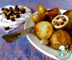 Рецепт Запеченный картофель с карамельными орехами