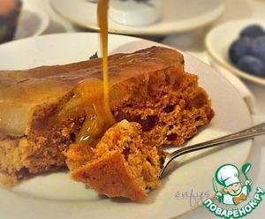 Рецепт Грушево-имбирный торт с медом