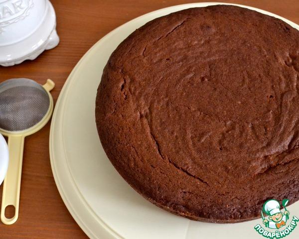 Шоколадный пирог пошаговый рецепт с фото