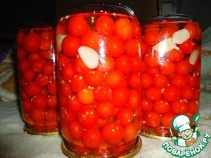 """Рецепт Консервированные помидоры черри """"Сахарные"""""""