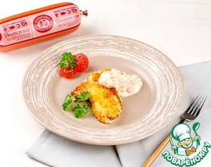 Рецепт Зразы картофельные по-Черкизовски