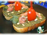 Бутерброды с пастой из авокадо ингредиенты