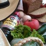 Ржаной хлеб с соевым соусом и специями
