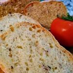 Хлеб пшеничный с семенами льна и кунжута