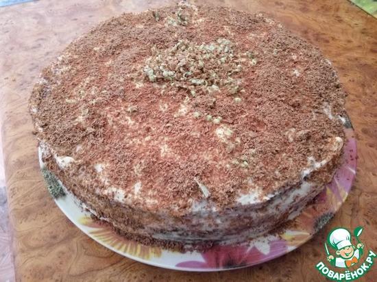 Торт черный принц на кефире с пошаговым