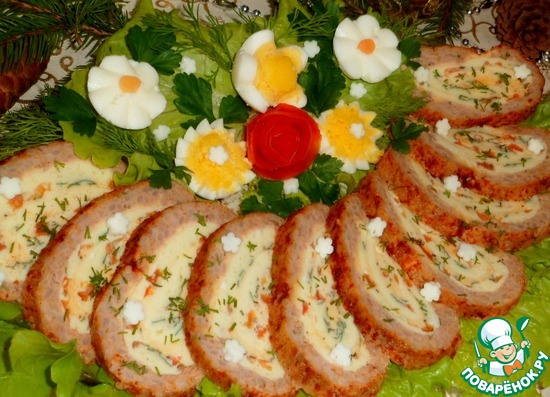 Рецепты закусочных рулетиков на праздничный стол