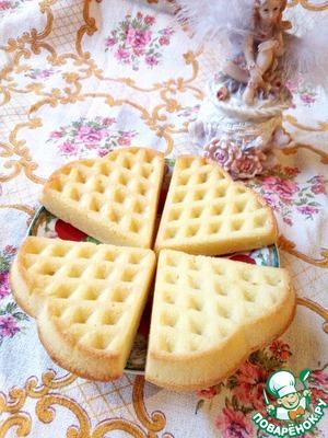 бельгийские вафли в духовке рецепт с фото