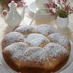 Постные булочки с малиной и орехами