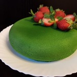 "Торт ""Зеленый бархат"""