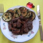 Вяхирь с овощами