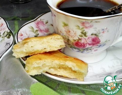 Солёное печенье с рикоттой и сыром