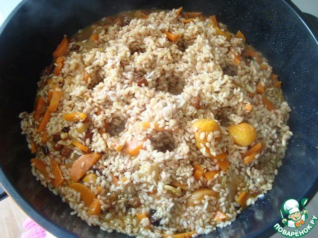 рецепт рассыпчатого риса с фото