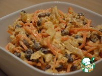 Куриный салат с морковью по-корейски ингредиенты