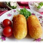 Картофельные крокеты с моцареллой