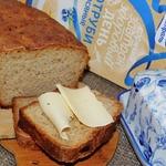 Хлеб с отрубями и жареным луком