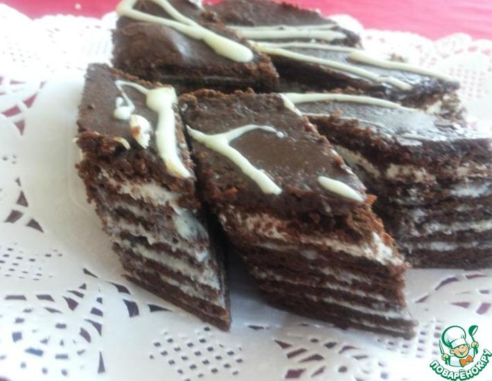 торт испанский медовик шоколадный рецепт