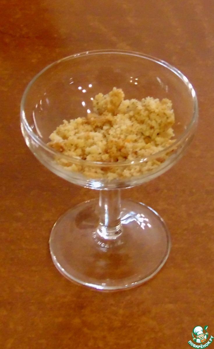 Чизкейк со смородиновым соусом без выпечки