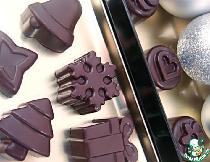 Рецепт: Шоколадные конфеты ручной работы