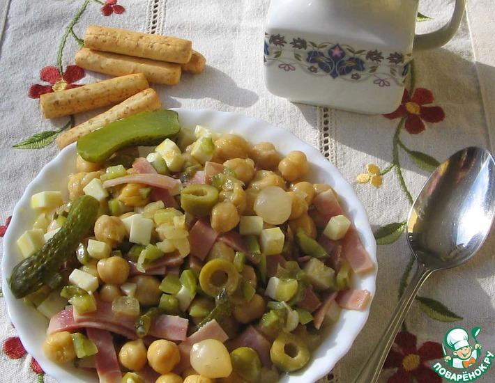 Рецепт: Салат из нута Пикантный