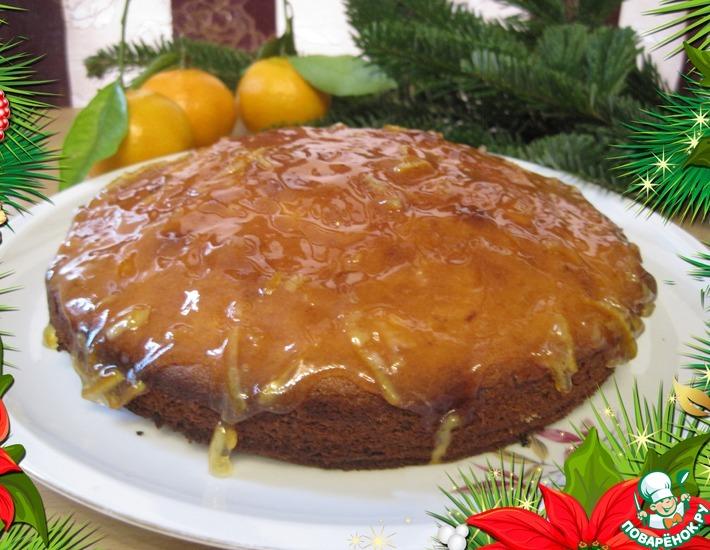 Рецепт: Клементиновый пирог