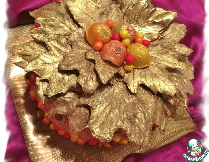 Рецепт: Торт Золотая осень