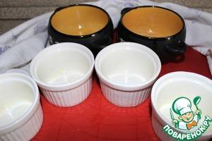Формы для запекания смазываем сливочным маслом.