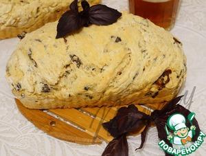 Рецепт Быстрый хлеб на пиве с базиликом