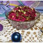 Салат свекольный с фунчозой