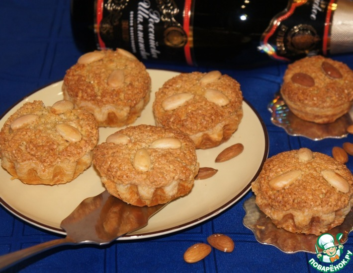 Рецепт: Миндальное пирожное Мадам