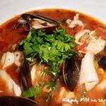 Томатный суп с морепродуктами Качука