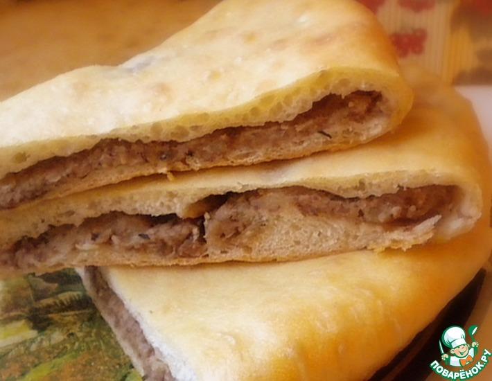 Рецепт: Осетинский пирог с фасолью Хъадурджин