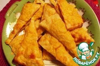 Рецепт: Картофельное слоеное печенье