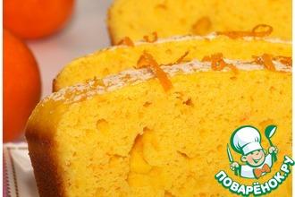 Рецепт: Творожно-кукурузный пирог