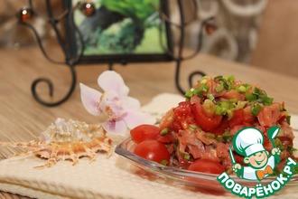 Рецепт: Салат гавайский Ломи-Ломи