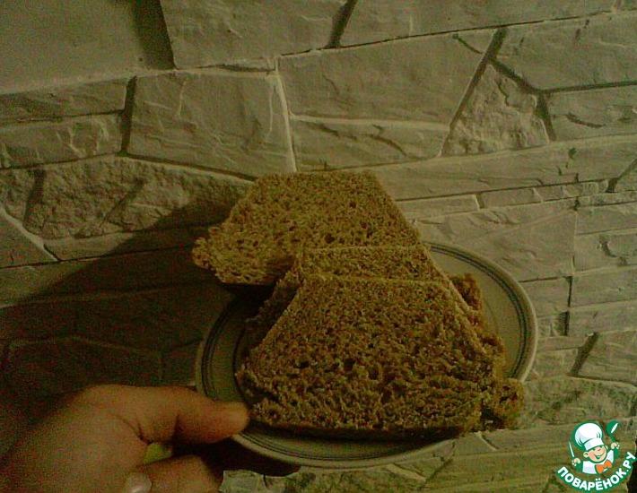 Рецепт: Домашний хлеб на закваске