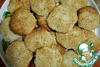 Рецепт: Овсяное печенье с творогом