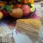 Шифоновый торт Медовик